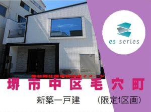 esSeries堺市中区毛穴町(限定1区画)